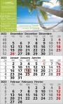 Standard 2  3-Monats-Wandkalender