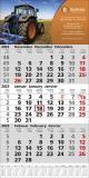 Top 12  3-Monats-Wandkalender