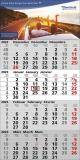 Quattro  4-Monats-Wandkalender